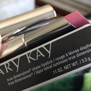 Posh Pink true dimensions sheer lipstick